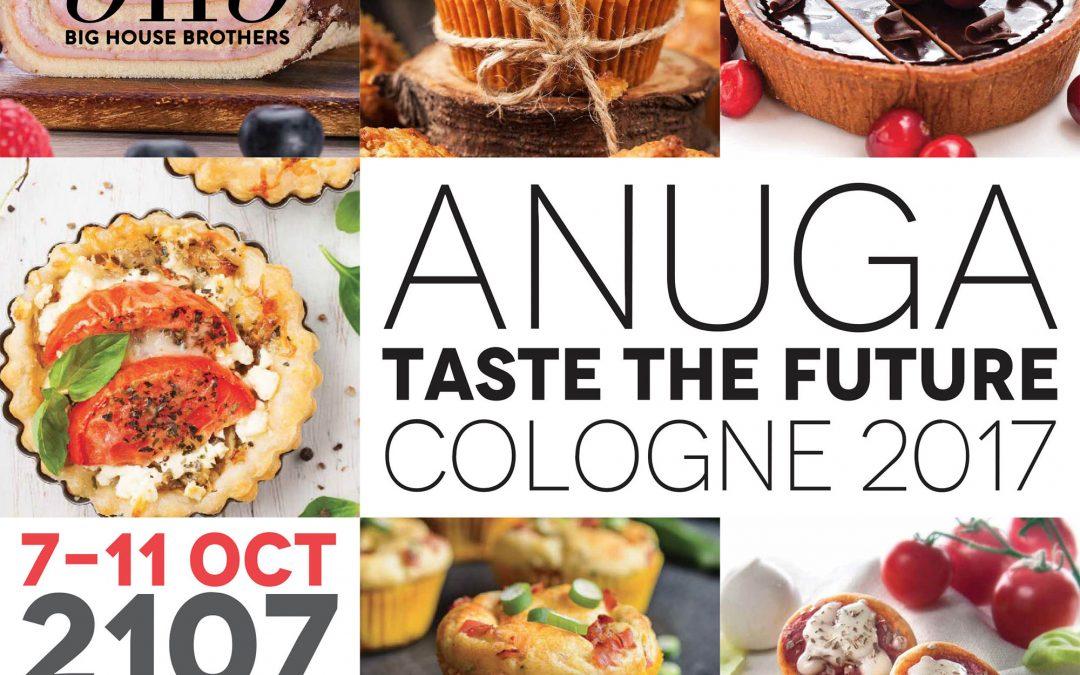 Ci siamo! Anuga, la fiera internazionale dell'Agroalimentare di Colonia sta per partire, e Bhb c'è!